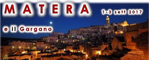 AVIS Montefiascone: Gita Matera e Gargano 1-3 settembre 2017